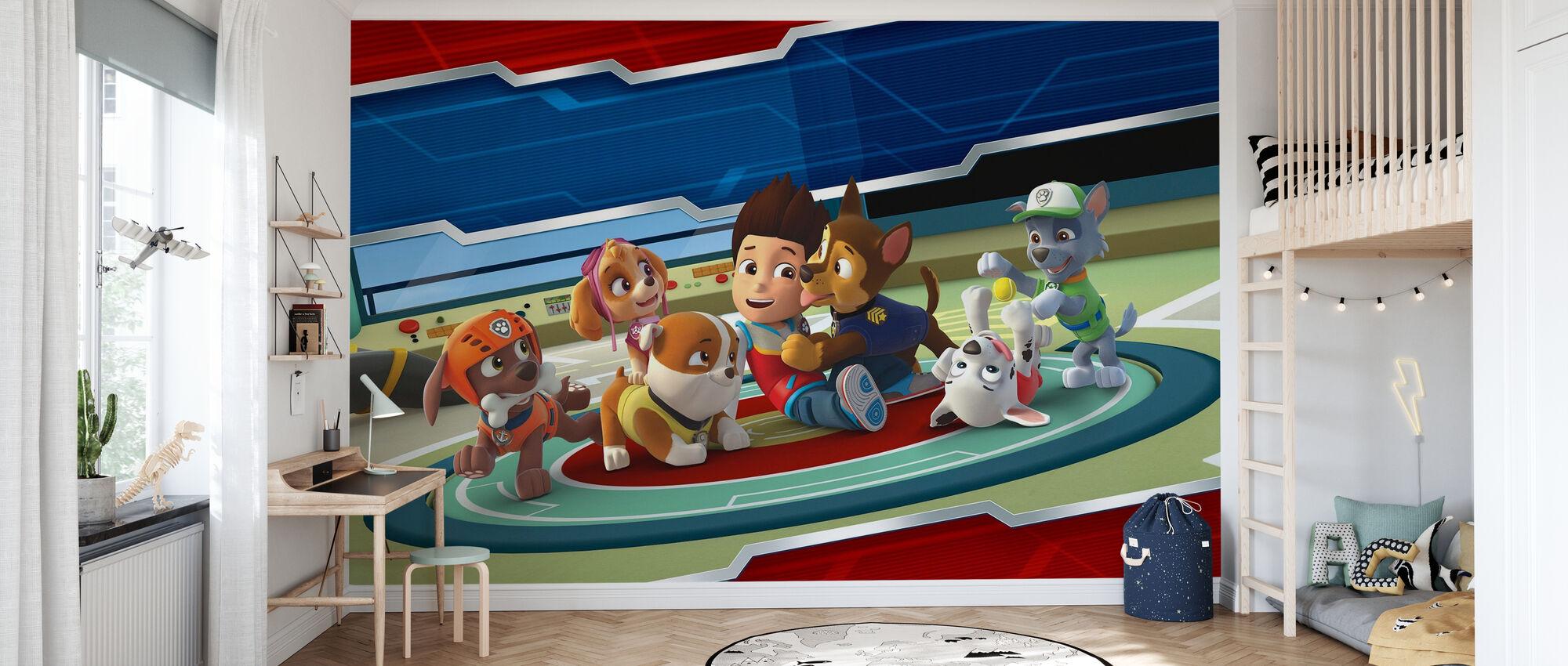 PAW Patrol - Alle Pfoten auf Deck - Tapete - Kinderzimmer