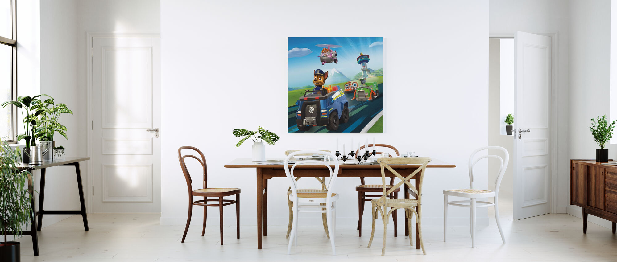 PAW Patrol - Let's roll - Canvas print - Kitchen