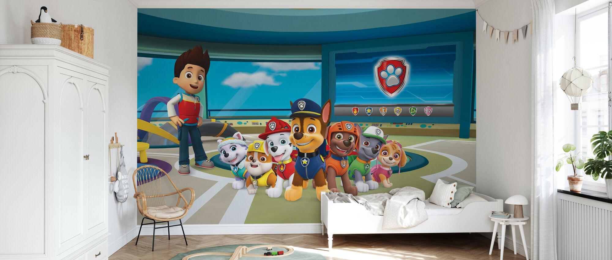 PAW Patrol - Hier, um zu helfen - Tapete - Kinderzimmer