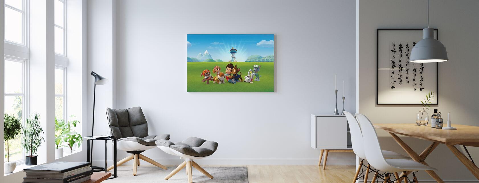PAW Patrol - Off Duty - Canvas print - Living Room