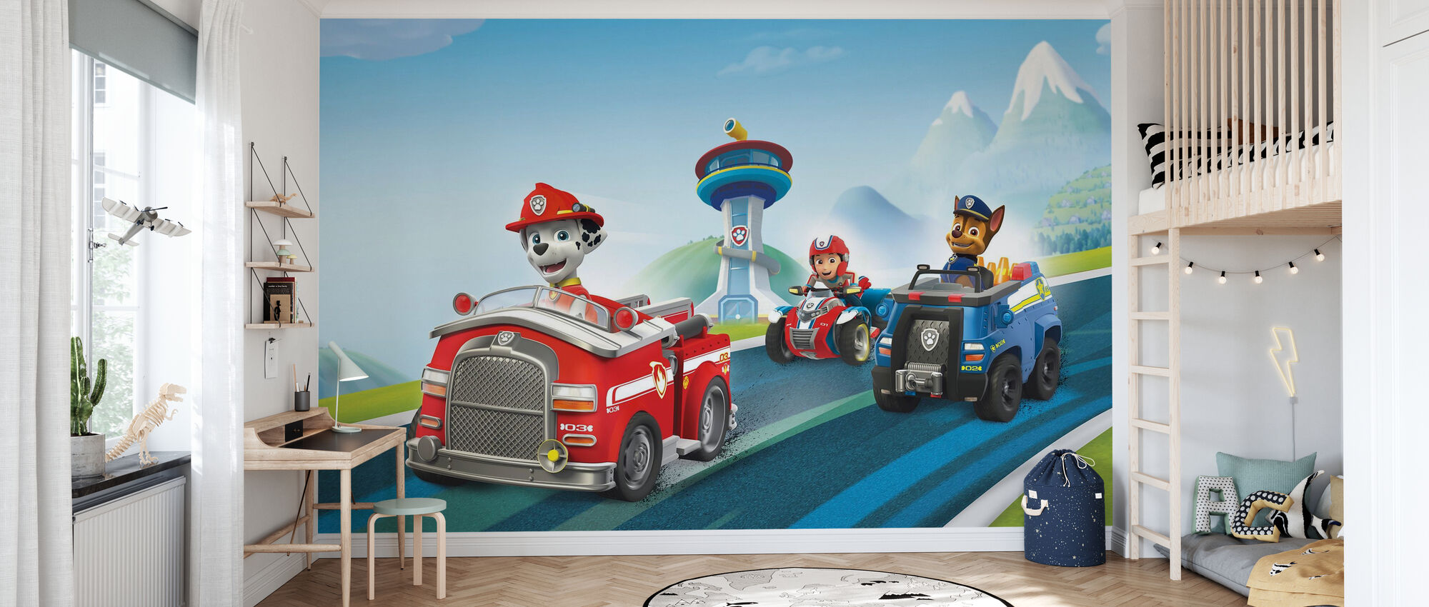 PAW Patrol - Ready for Action - Wallpaper - Kids Room