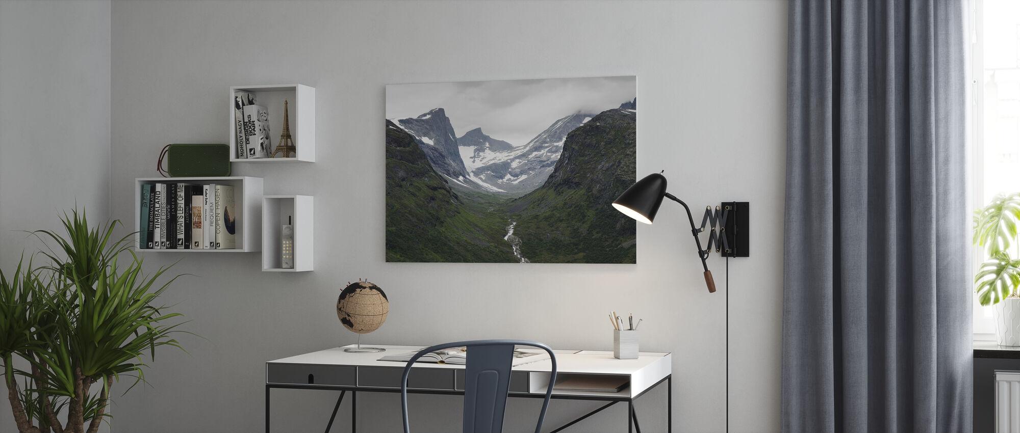 Jotunheimen, Norge - Canvastavla - Kontor
