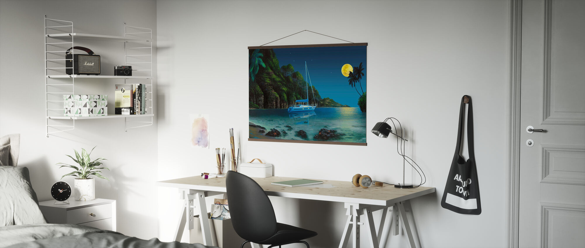 By The Moon - Poster - Office