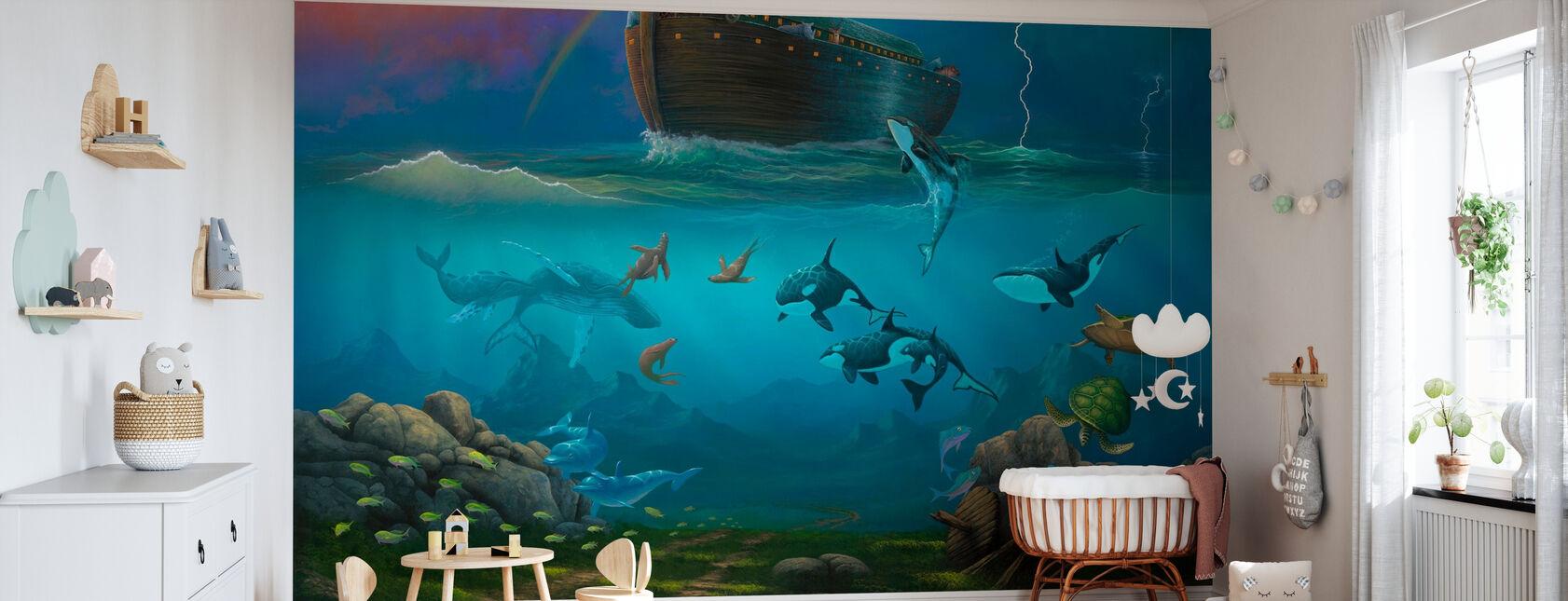 Noahs Ark - Tapet - Babyrom
