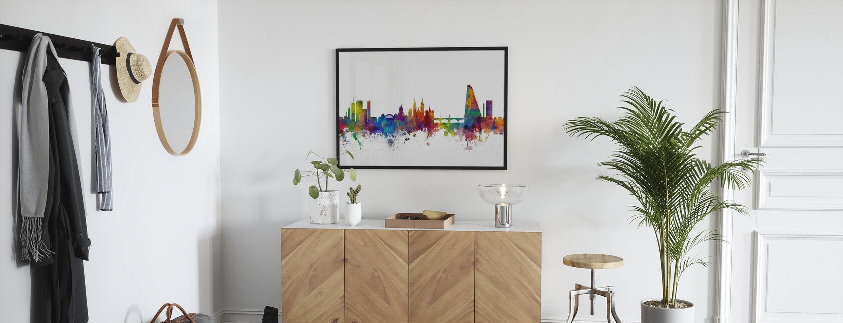 Basel Skyline - Poster - Hallway