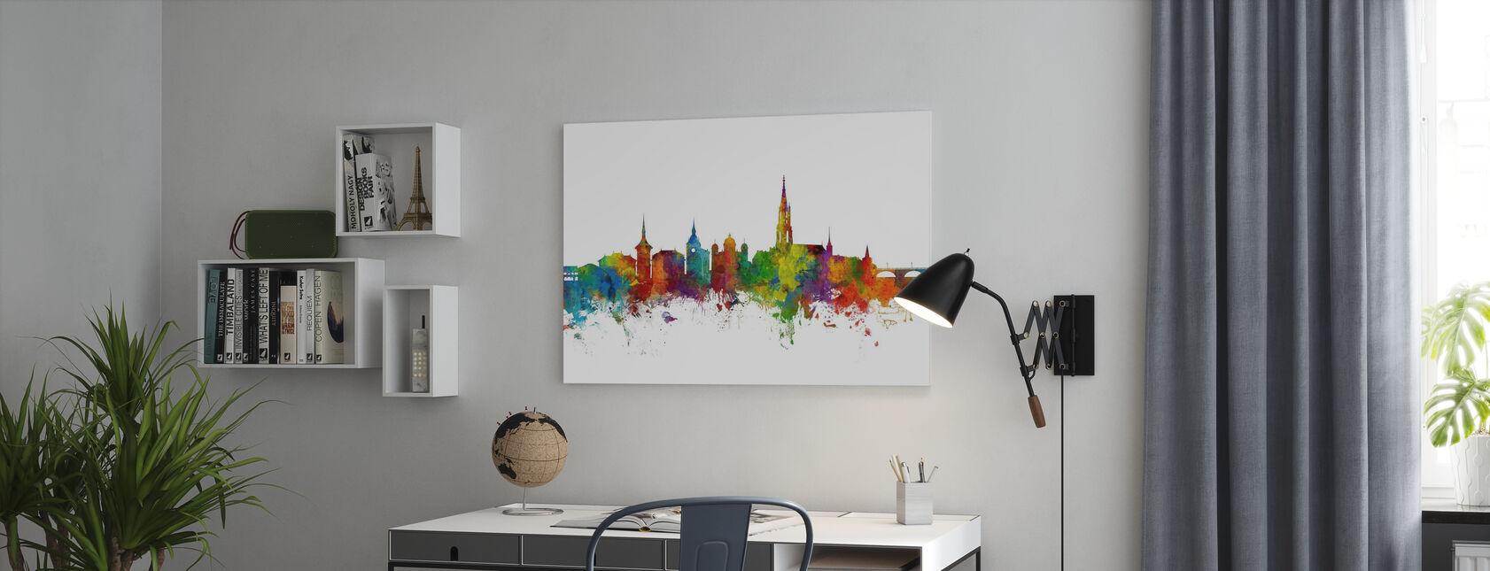 Bern Skyline - Lerretsbilde - Kontor
