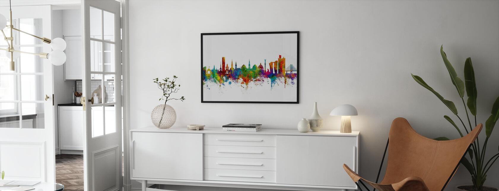 København Skyline - Plakat - Stue