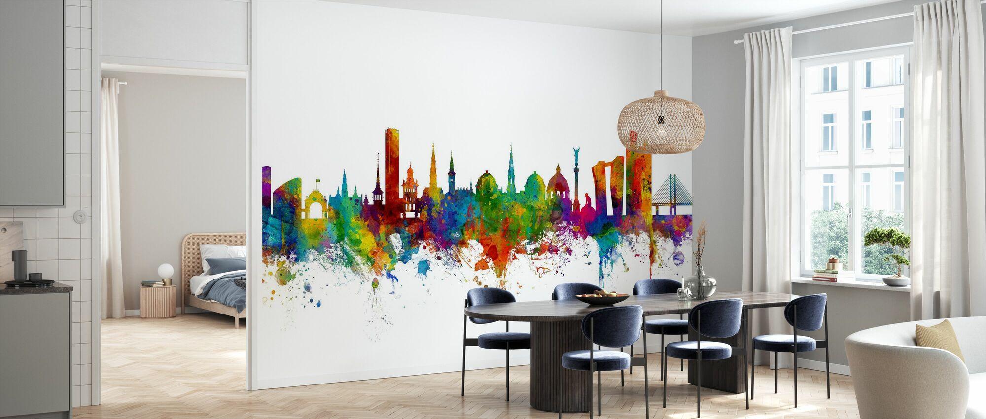 Copenhagen Skyline - Wallpaper - Kitchen