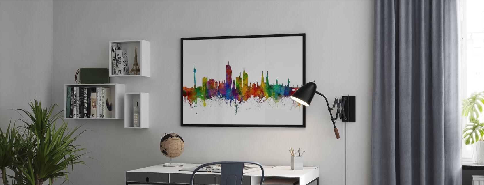 Skyline Wien - Poster - Büro