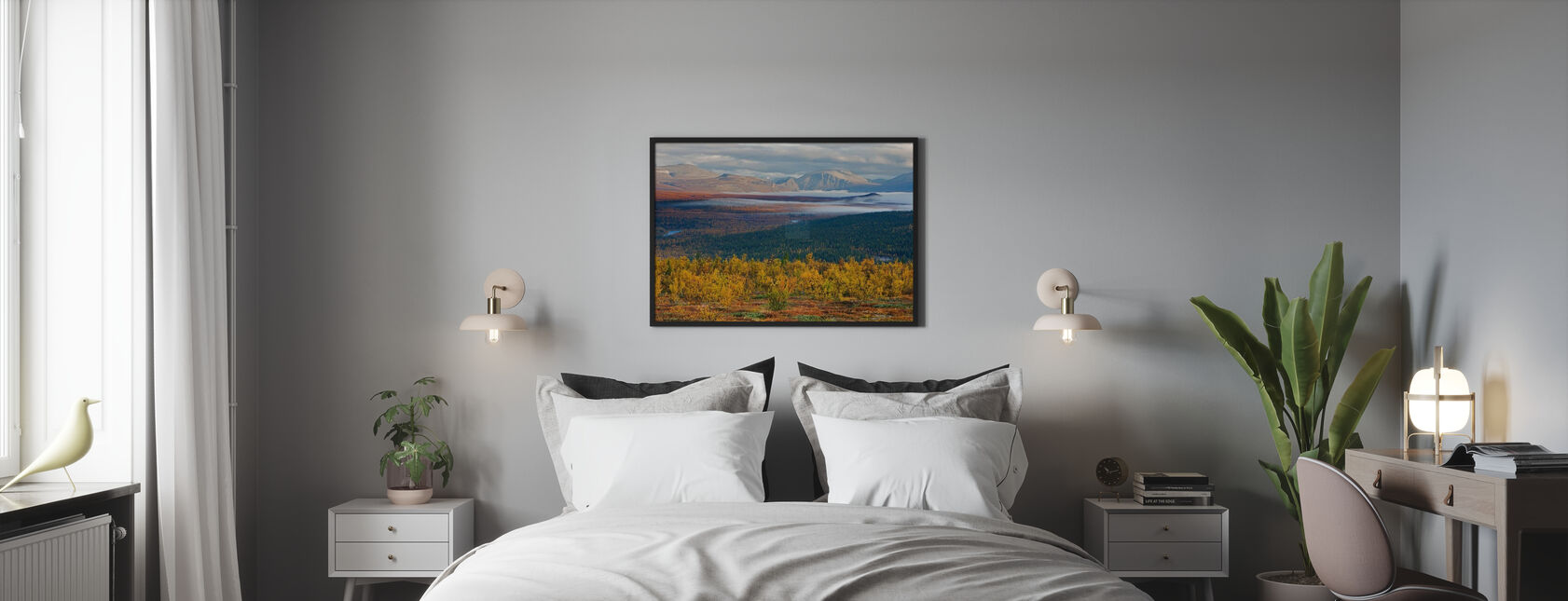 Herfst in Abisko - Poster - Slaapkamer