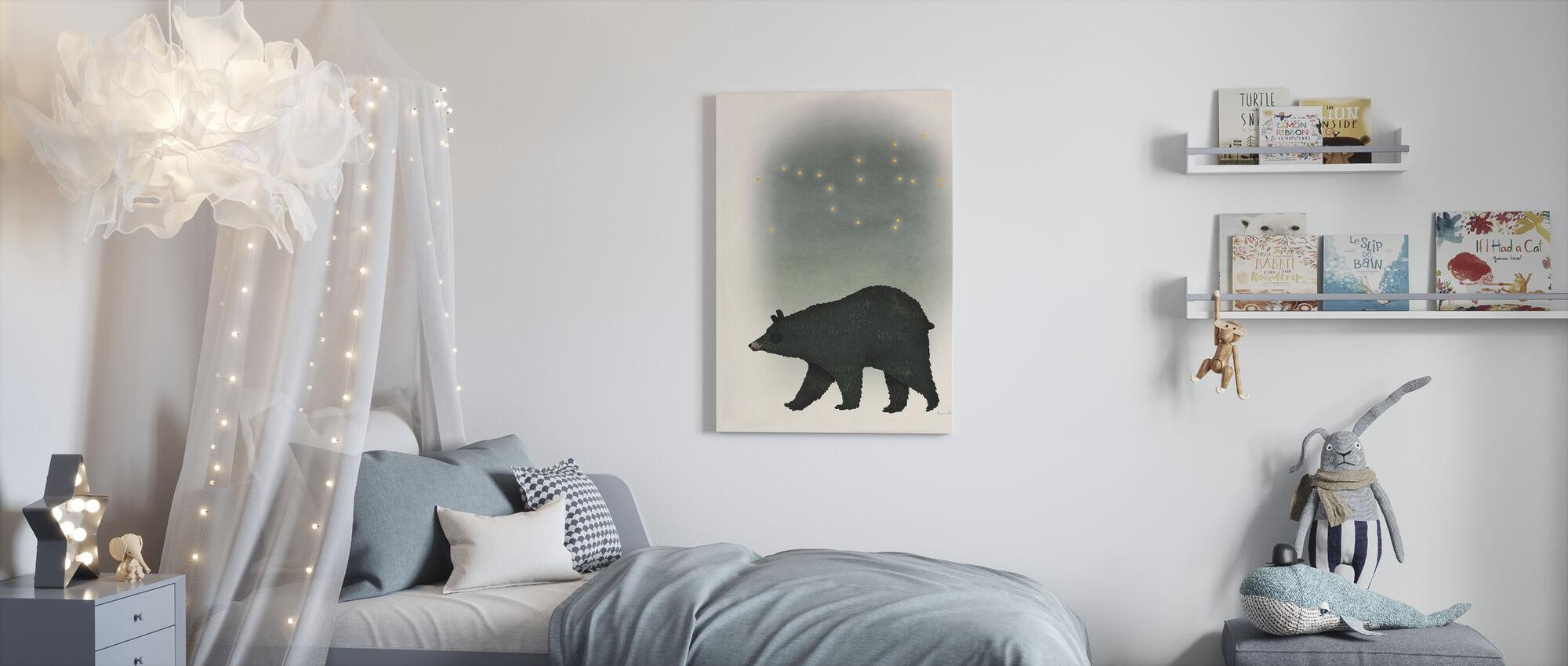 Ursa Majoor - Canvas print - Kinderkamer
