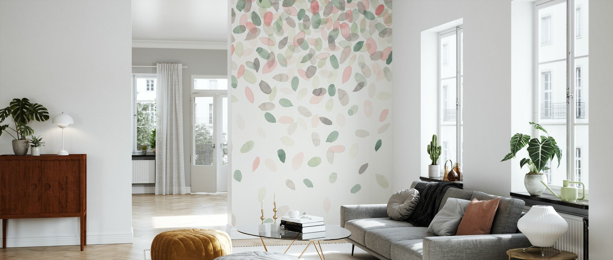 Frühling Kaskade I - Tapete - Wohnzimmer