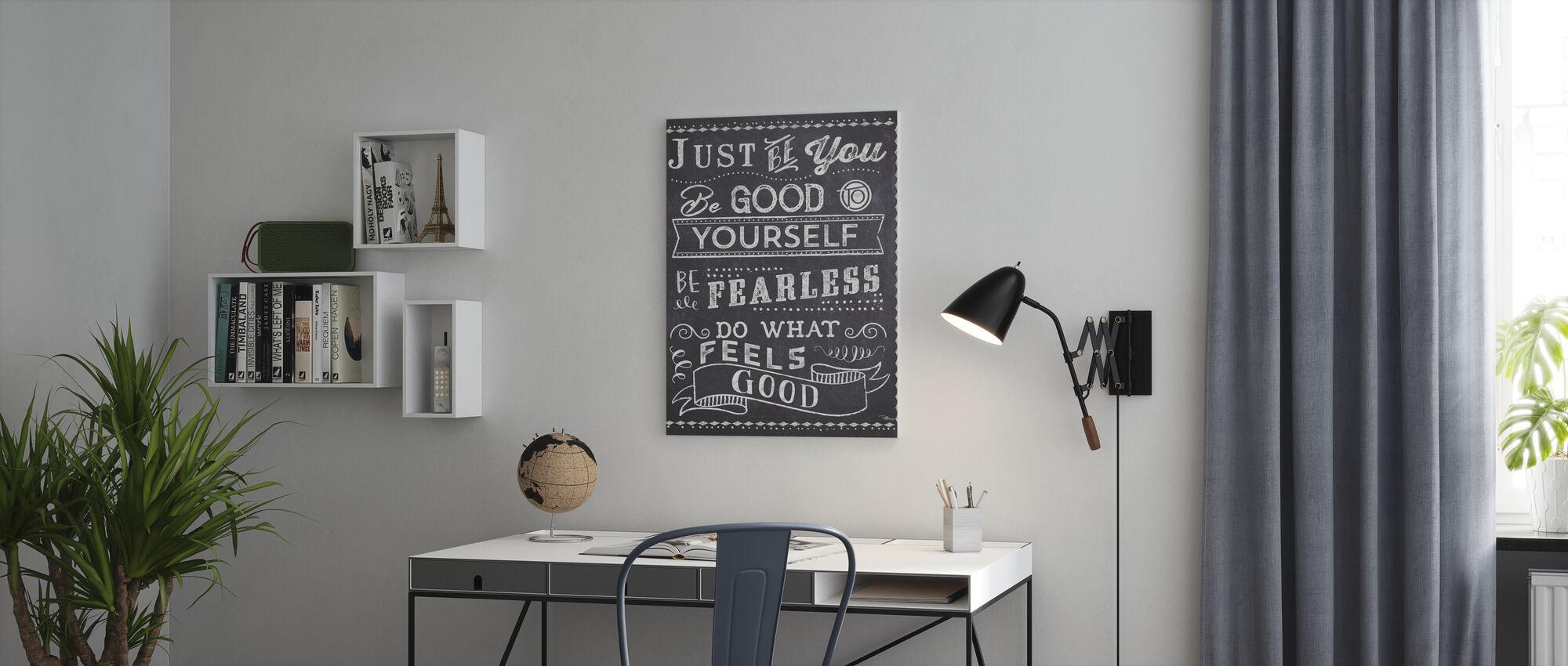 Sii solo tu II - Stampa su tela - Uffici