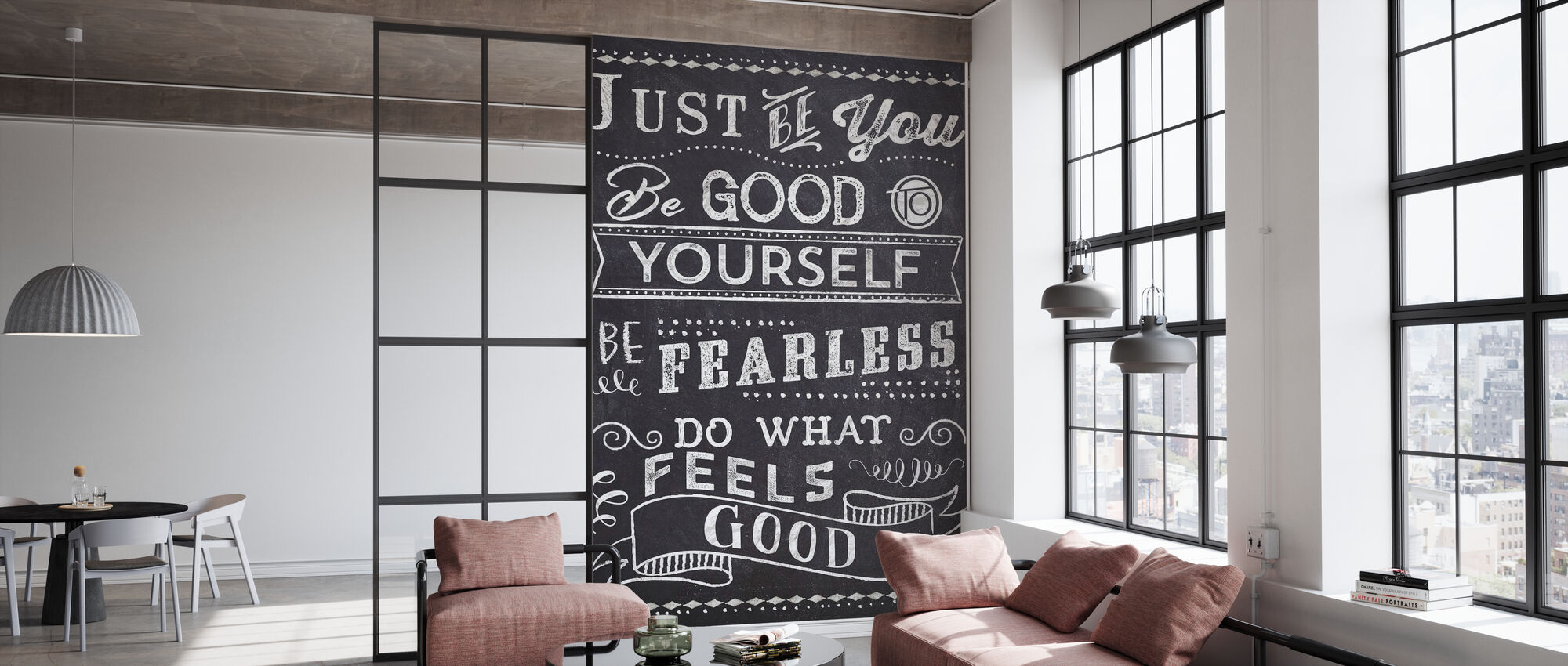 Just Be You II - Wallpaper - Office
