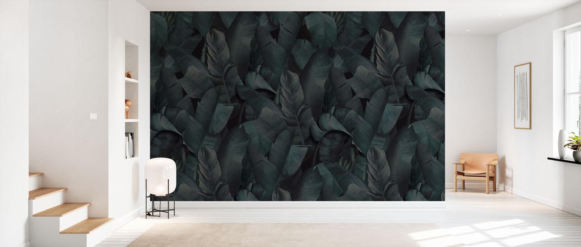 Botany Tropical Emerald Green - Wallpaper - Hallway