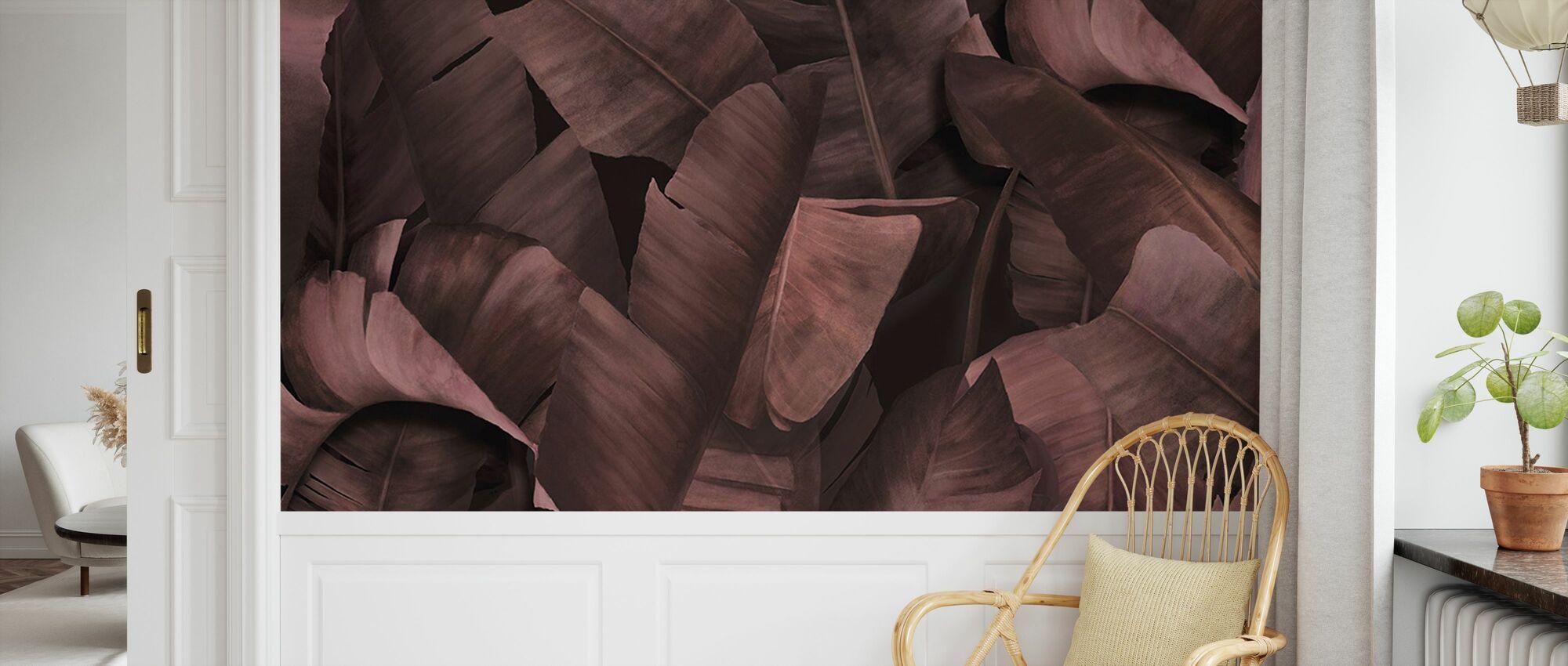 Botany Tropical Dusty Rose - Wallpaper - Kids Room