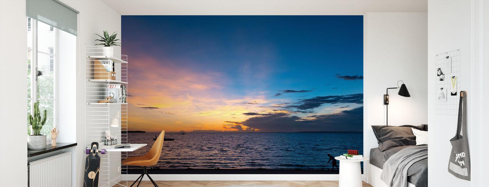 Bantayan Sunrise II - Wallpaper - Kids Room