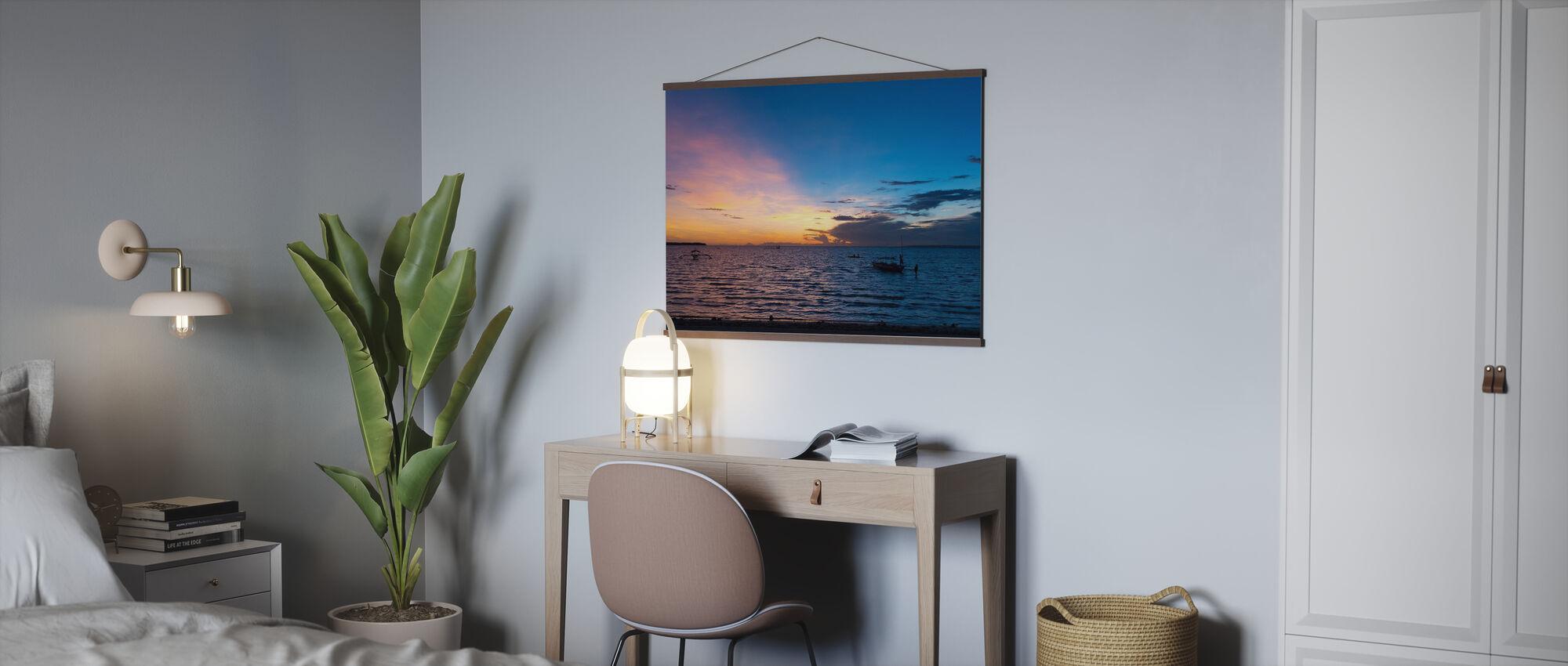 Bantayan Sunrise IV - Poster - Büro