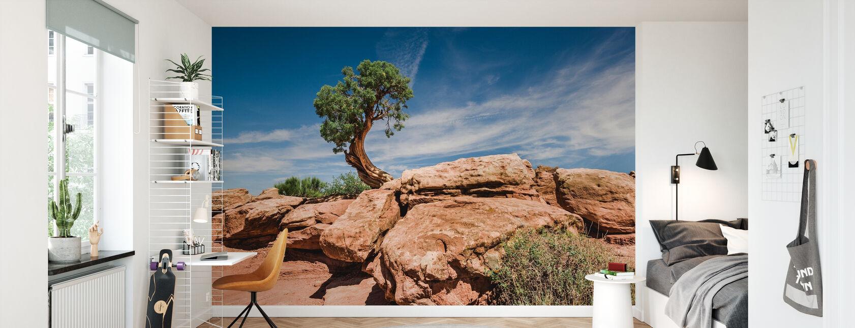 Desert tree in Utah - Wallpaper - Kids Room