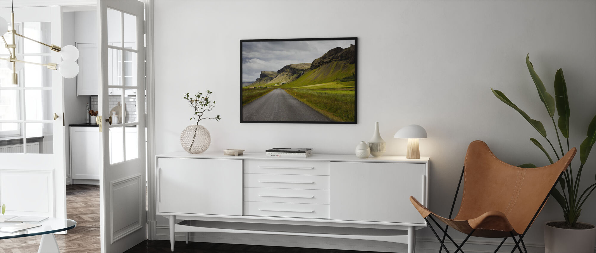 Shapes of Iceland - Poster - Living Room