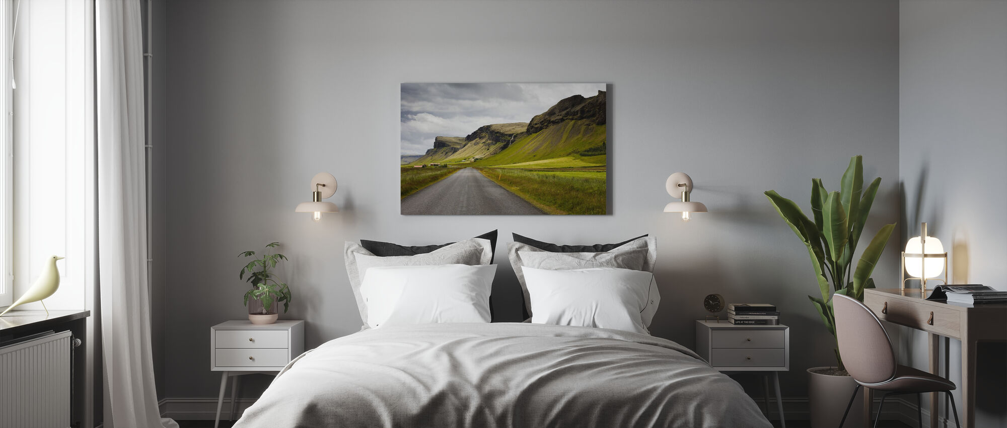 Shapes of Iceland - Canvas print - Bedroom