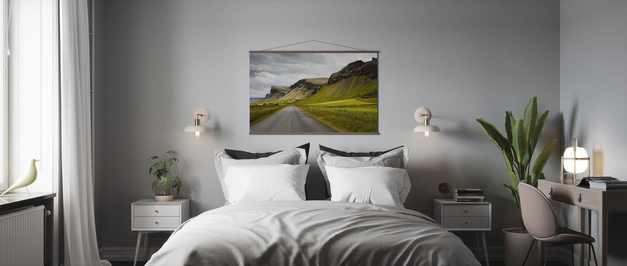 Vormen van IJsland - Poster - Slaapkamer