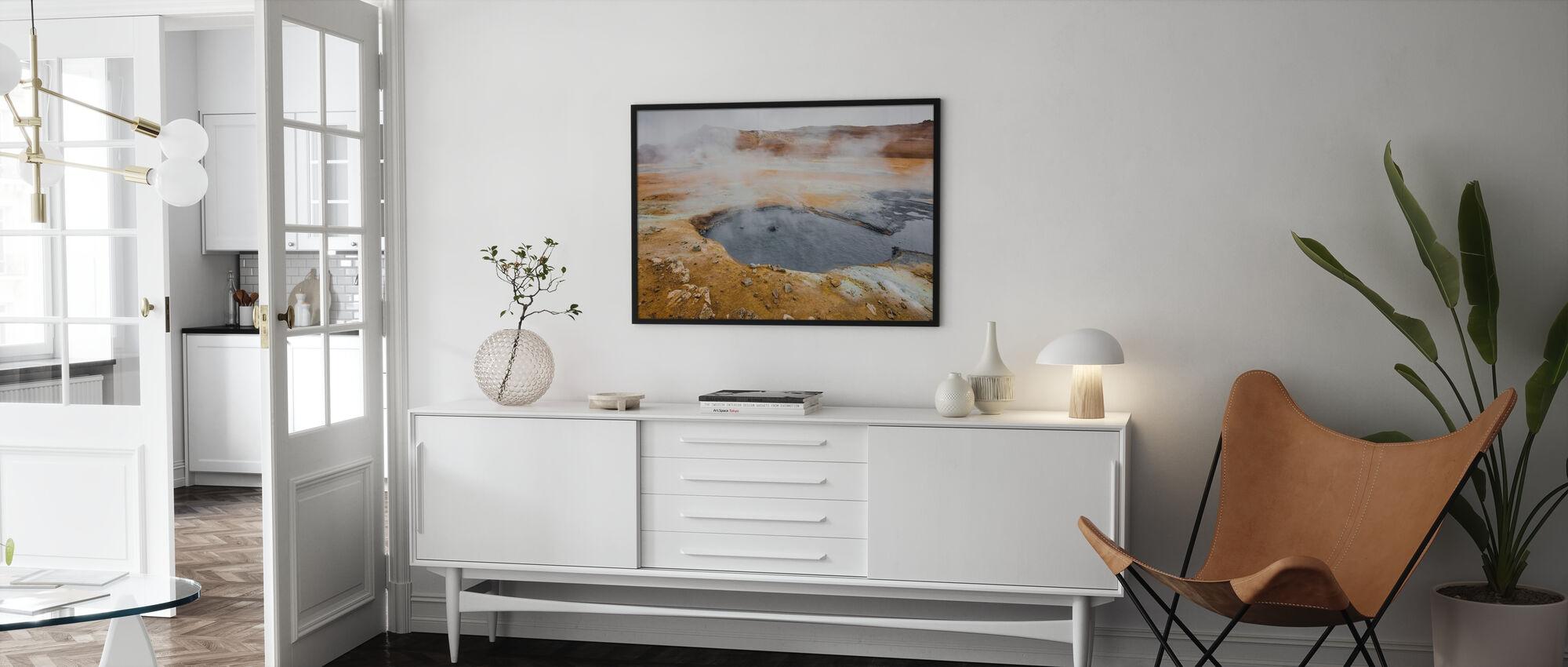 Iceland Geyser - Poster - Living Room