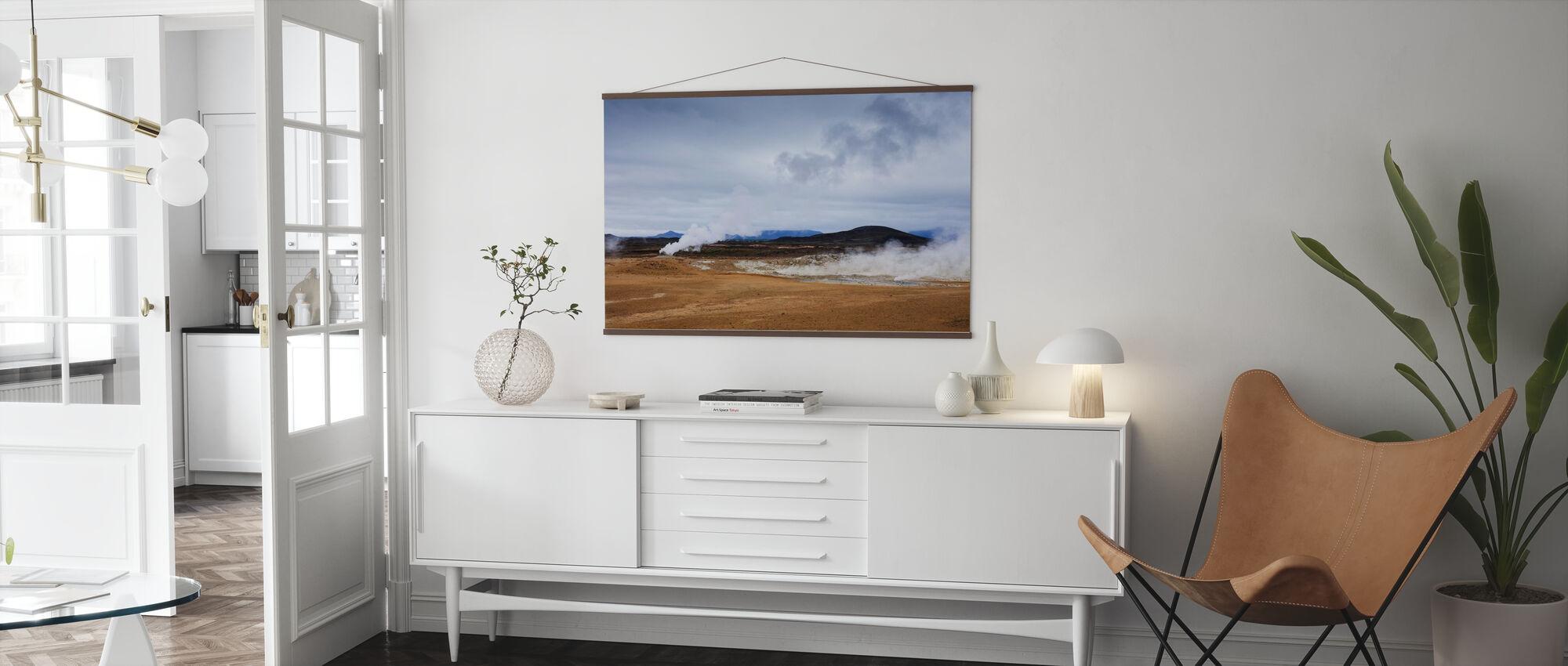 Námafjall Country - Poster - Living Room