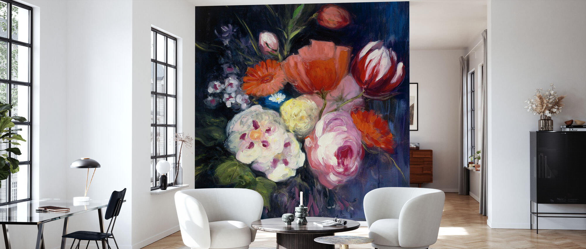 Fresh Cut - Wallpaper - Living Room