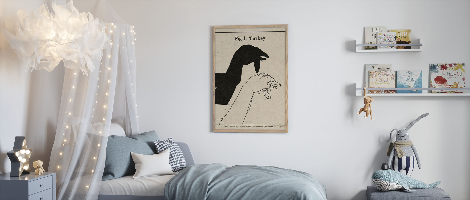 The Art of Shadows - Turkey - Poster - Kids Room
