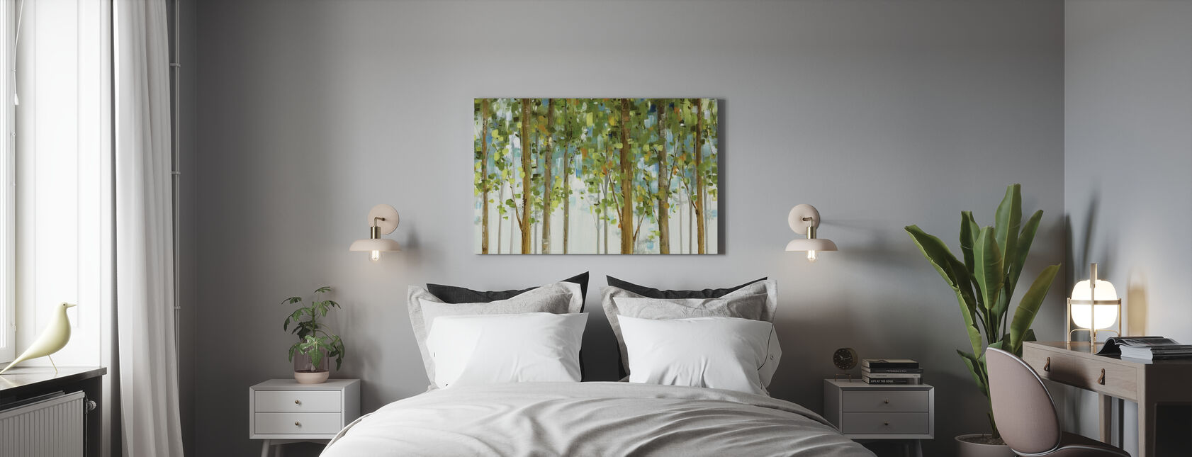 Forest Study - Canvas print - Bedroom