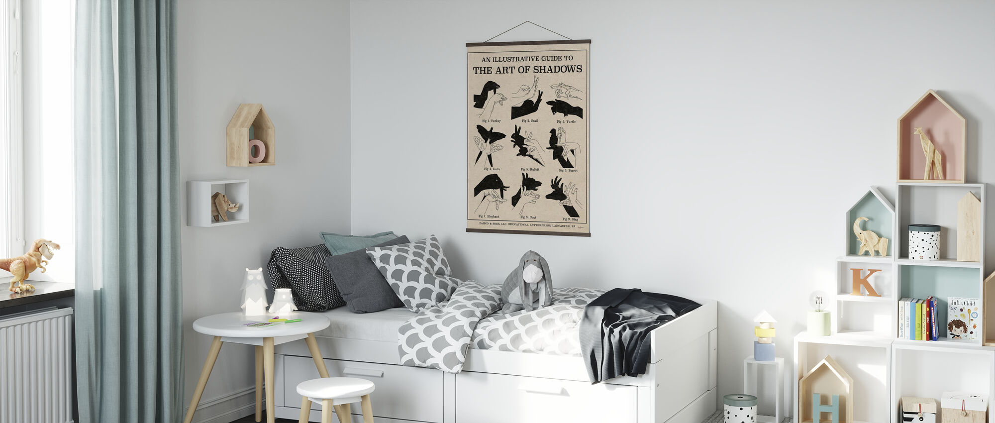 The Art of Shadows - Poster - Kids Room