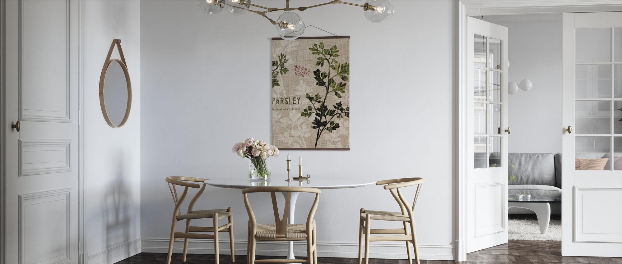 Økologisk persille - Plakat - Køkken