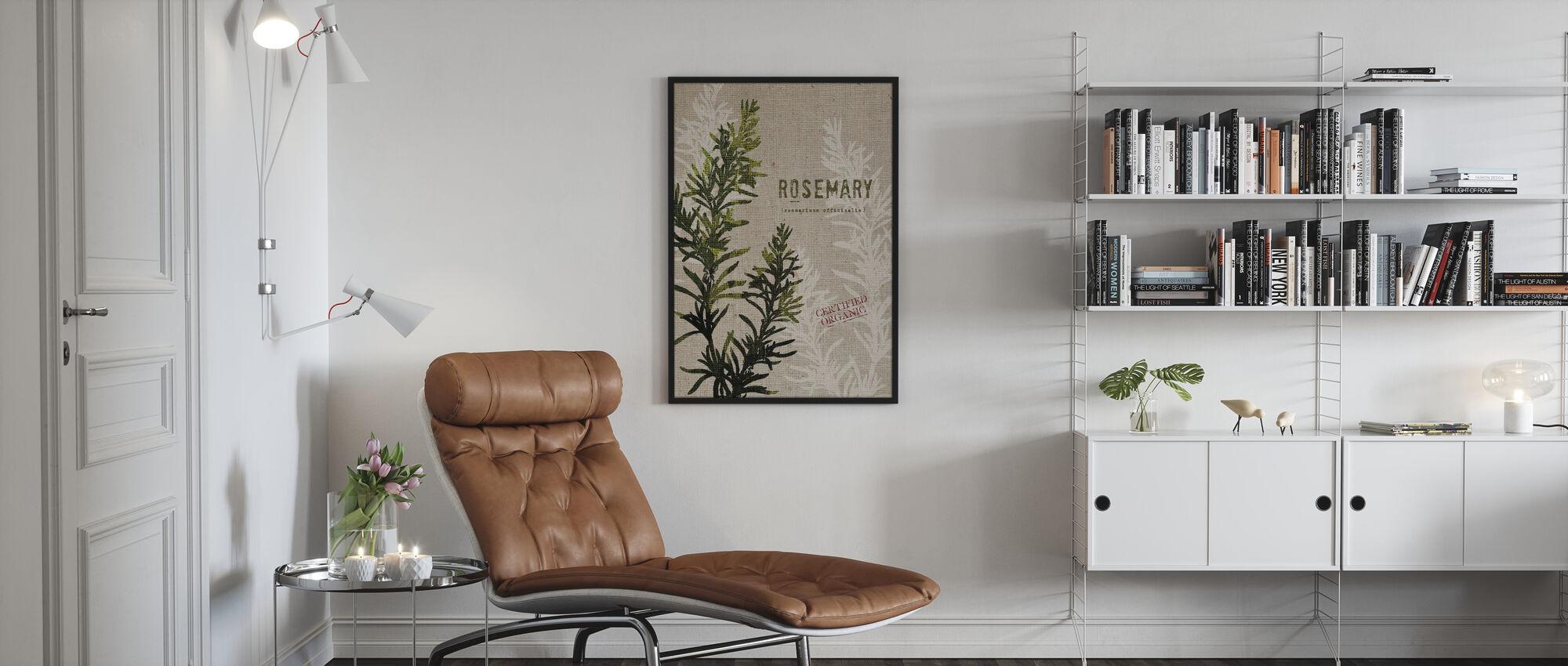 Organic Rosemary - Poster - Living Room