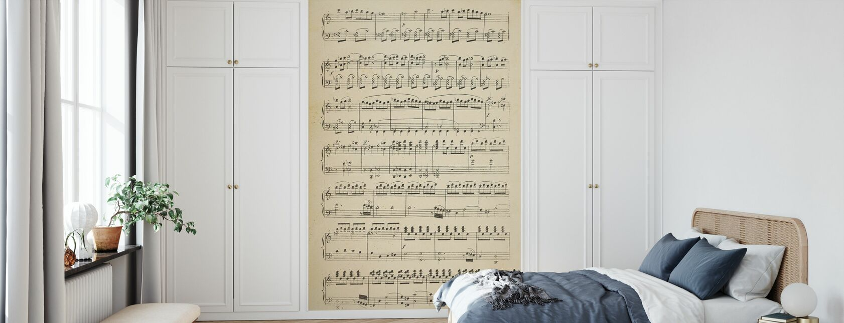 Musical Notes part 1 - Wallpaper - Bedroom