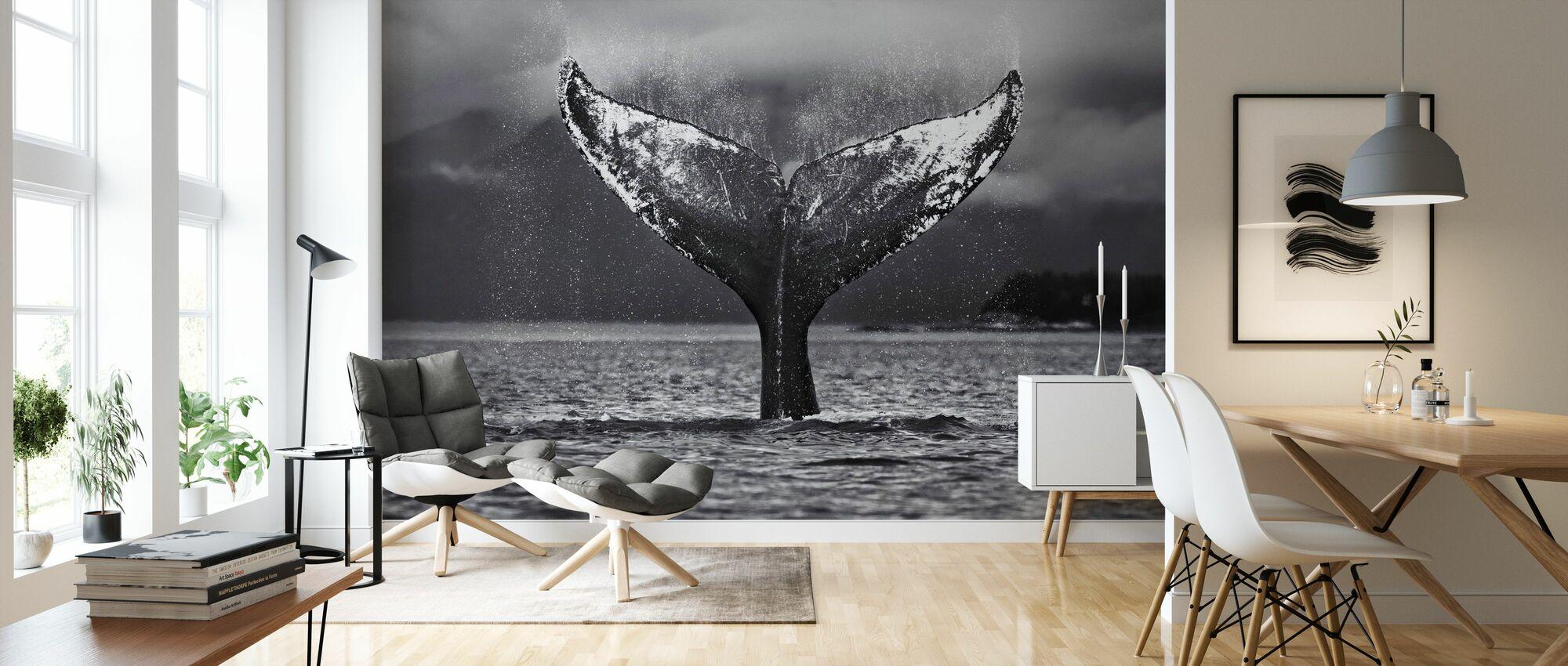 Humpback Whale, Alaska - Wallpaper - Living Room
