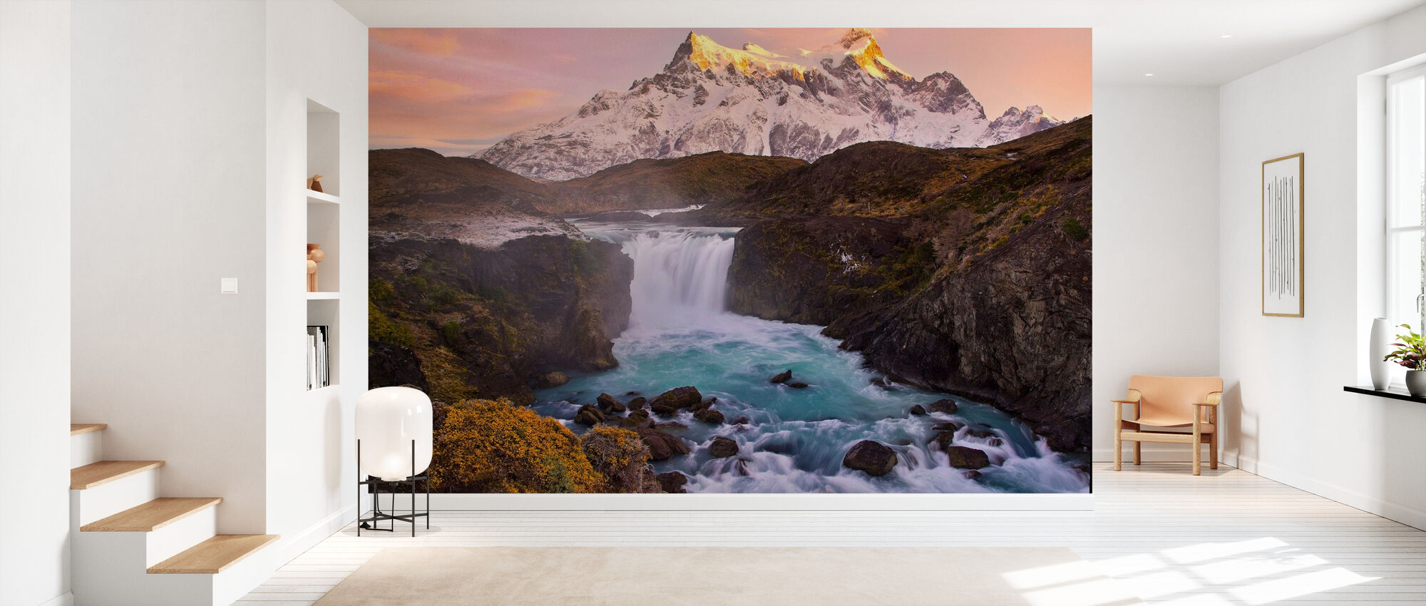 Vattenfall Salto Grande, Chile - Tapet - Hall