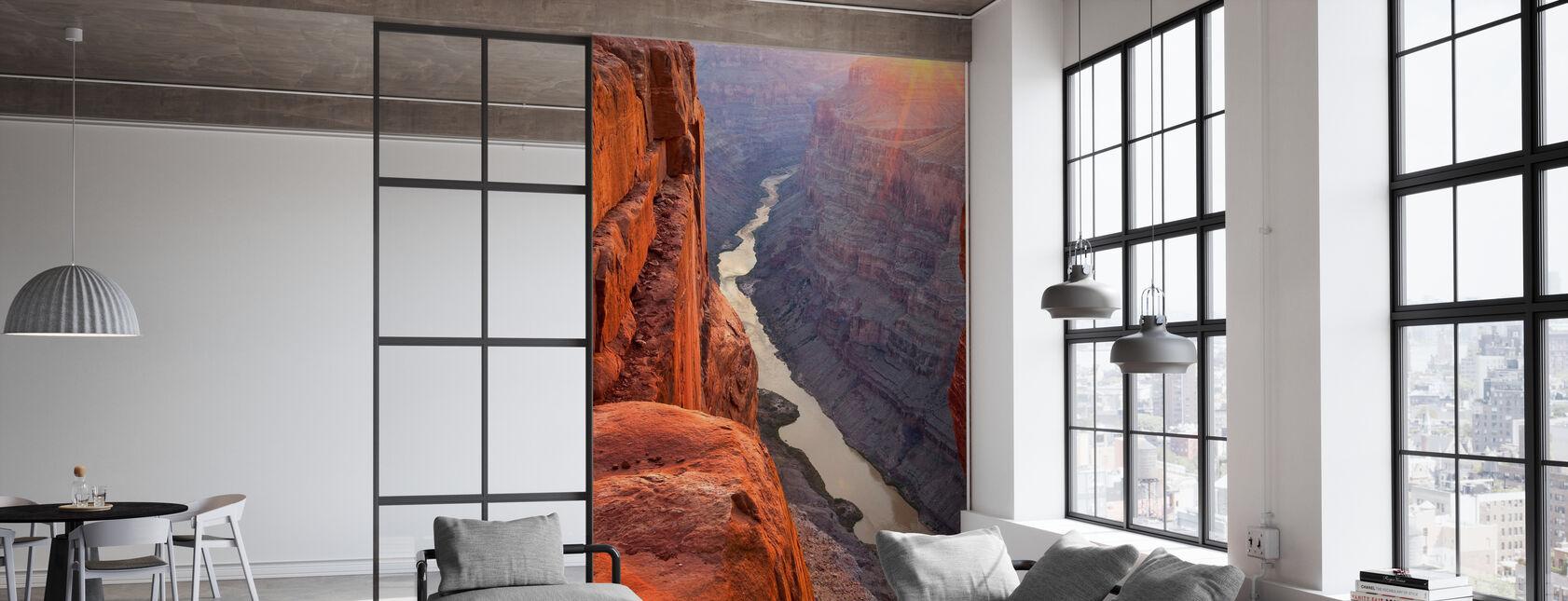 Lever du soleil sur le Grand Canyon, Arizona - Papier peint - Bureau