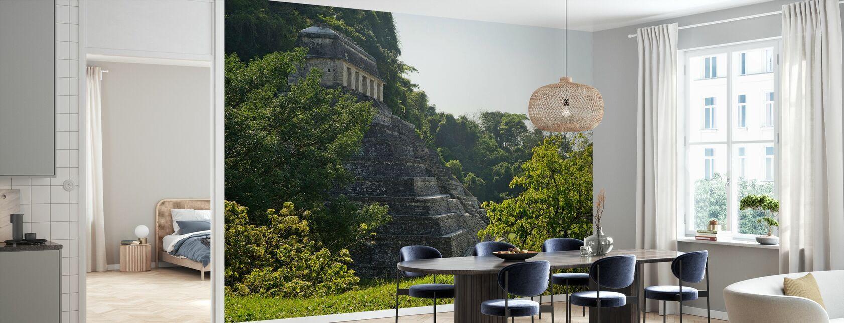 De Palenque Maya-ruïnes, Mexico - Behang - Keuken