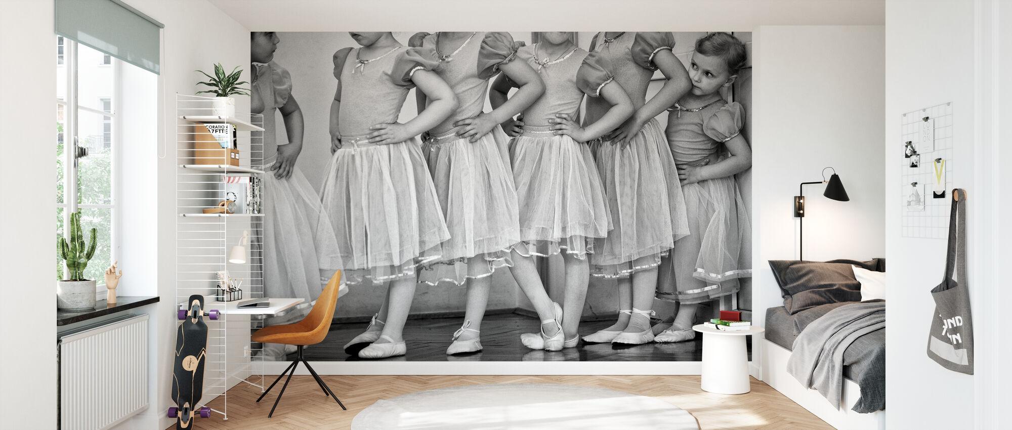 Bailarina - Papel pintado - Cuarto de niños