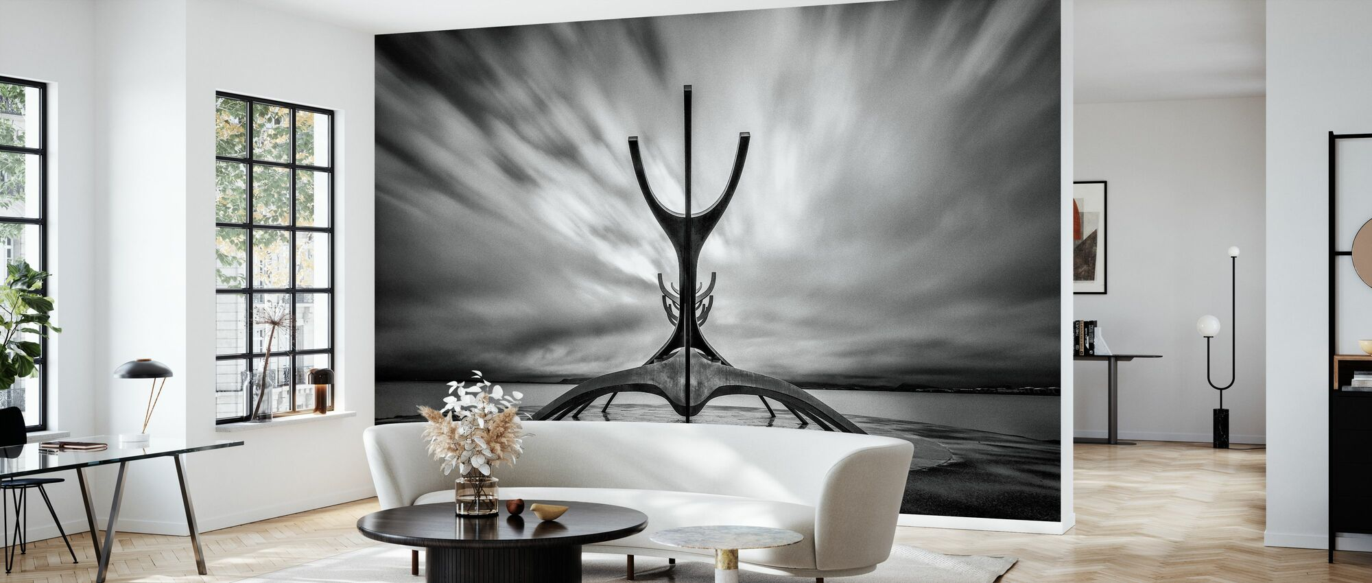 Salifar - Wallpaper - Living Room