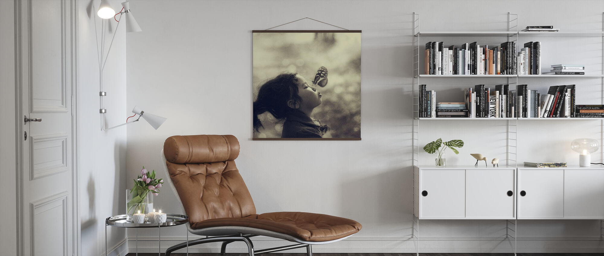 New Friend - Poster - Living Room