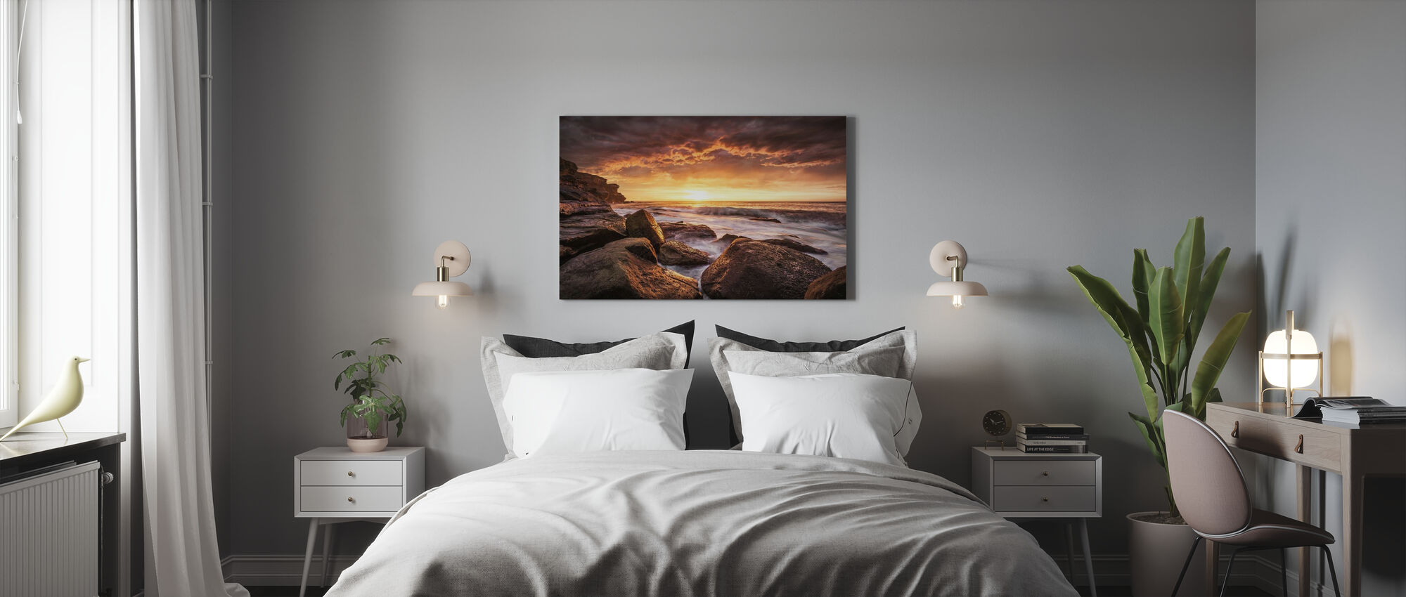 Cape Solander - Canvas print - Bedroom