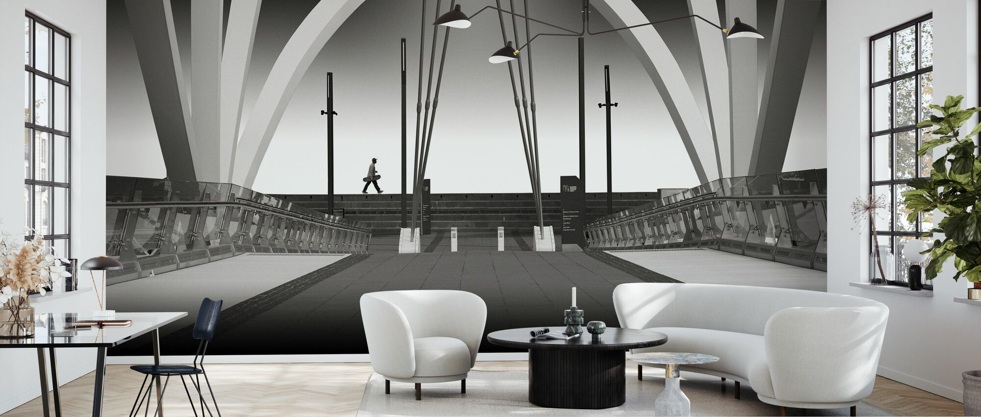 Seafarers Bridge - Wallpaper - Living Room