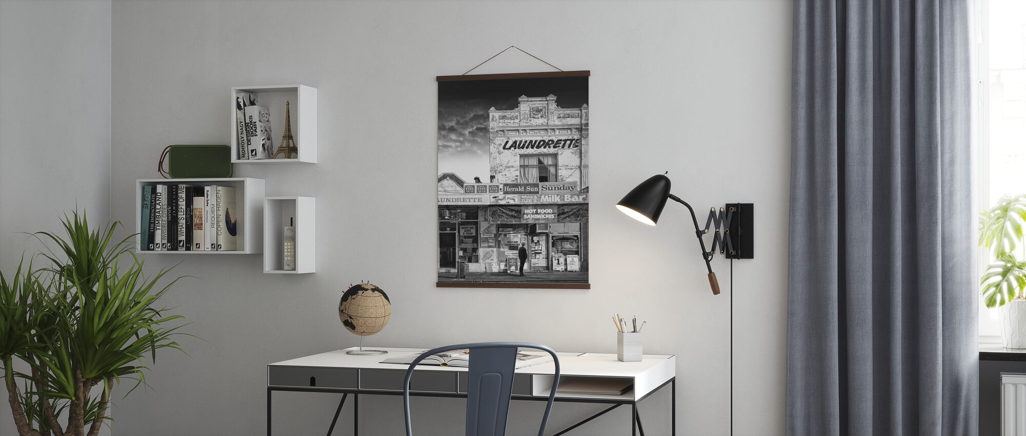 Gemengd bedrijf - Poster - Kantoor