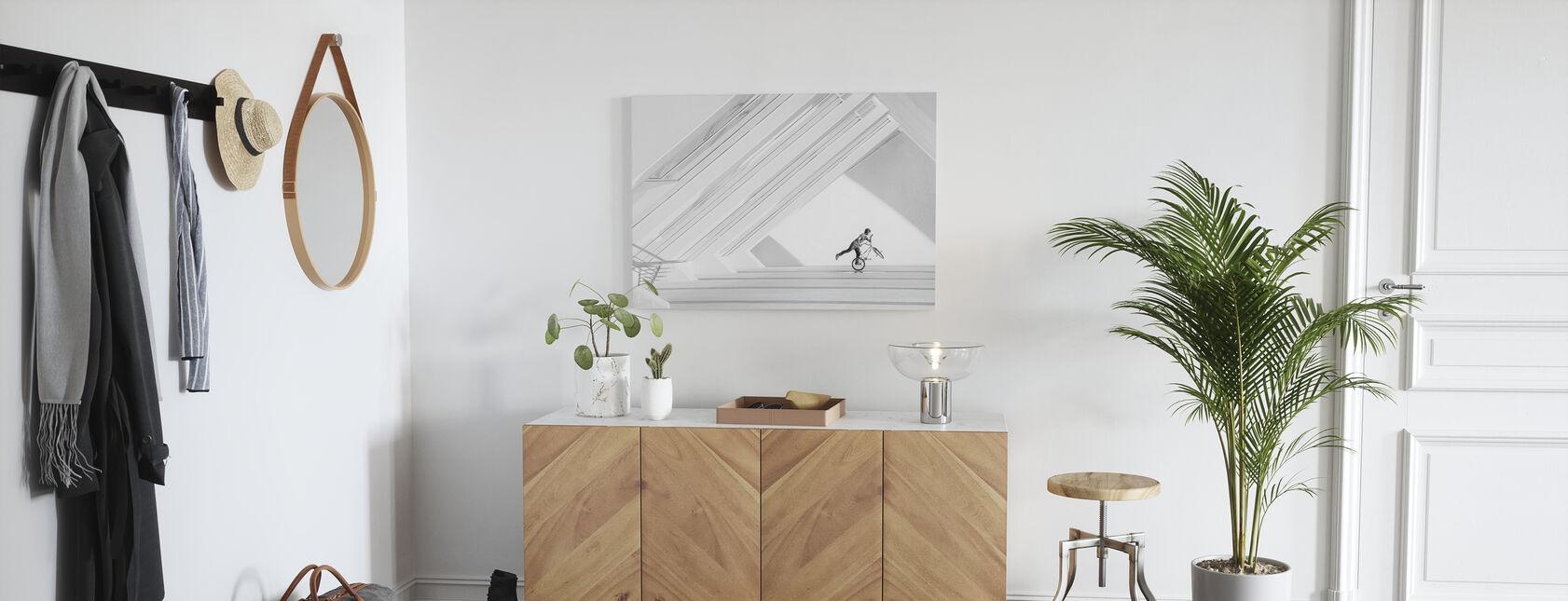 Bicycle Art - Canvas print - Hallway
