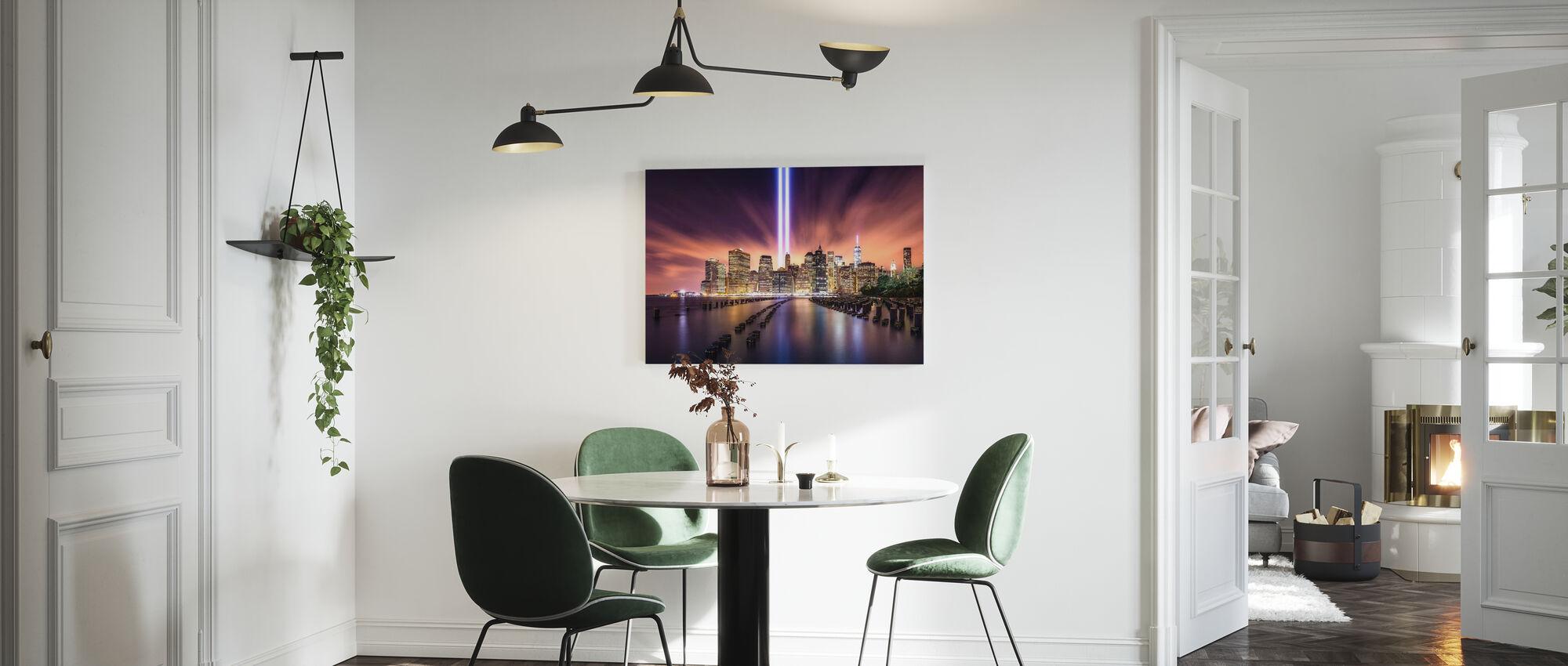 Unforgettable 9-11 - Canvas print - Kitchen