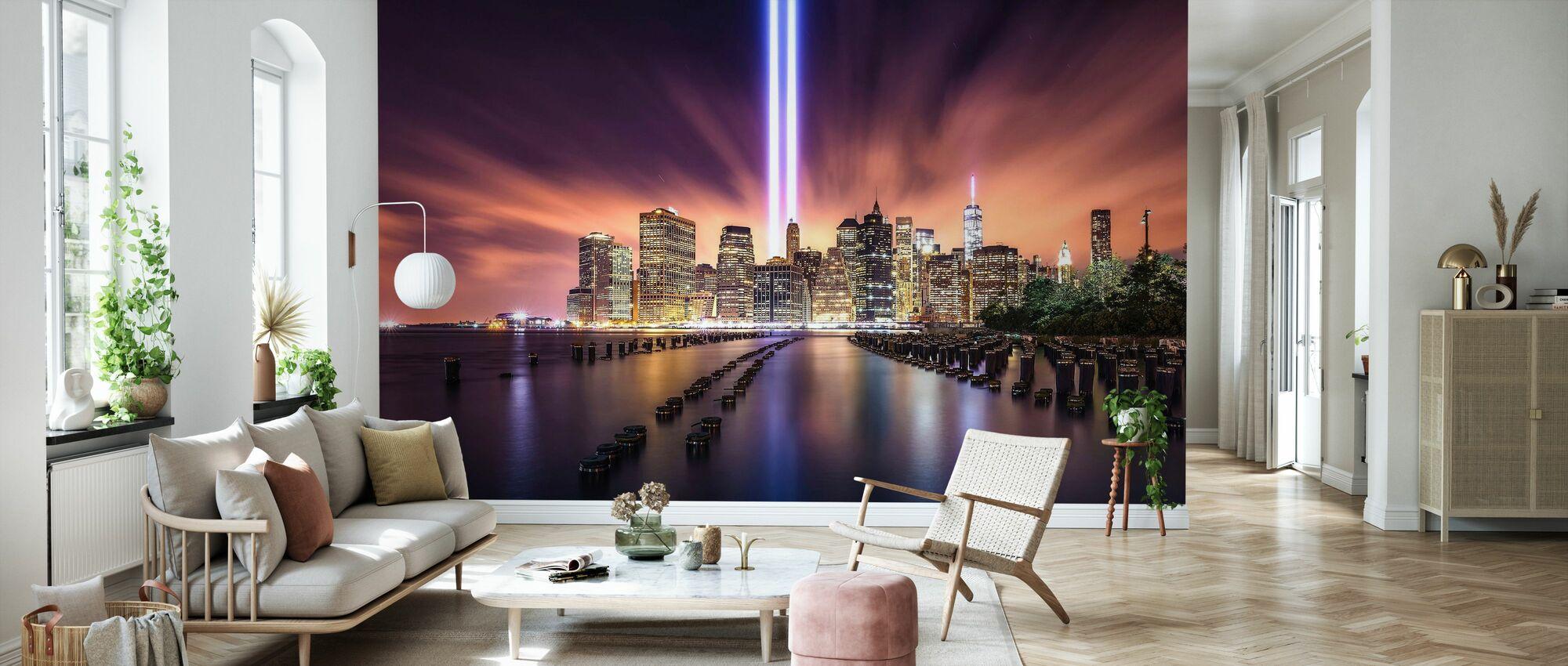 Oförglömlig 9-11 - Tapet - Vardagsrum