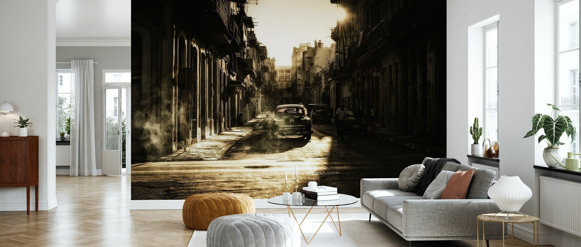 Mystic Morgon i Havanna - Tapet - Vardagsrum