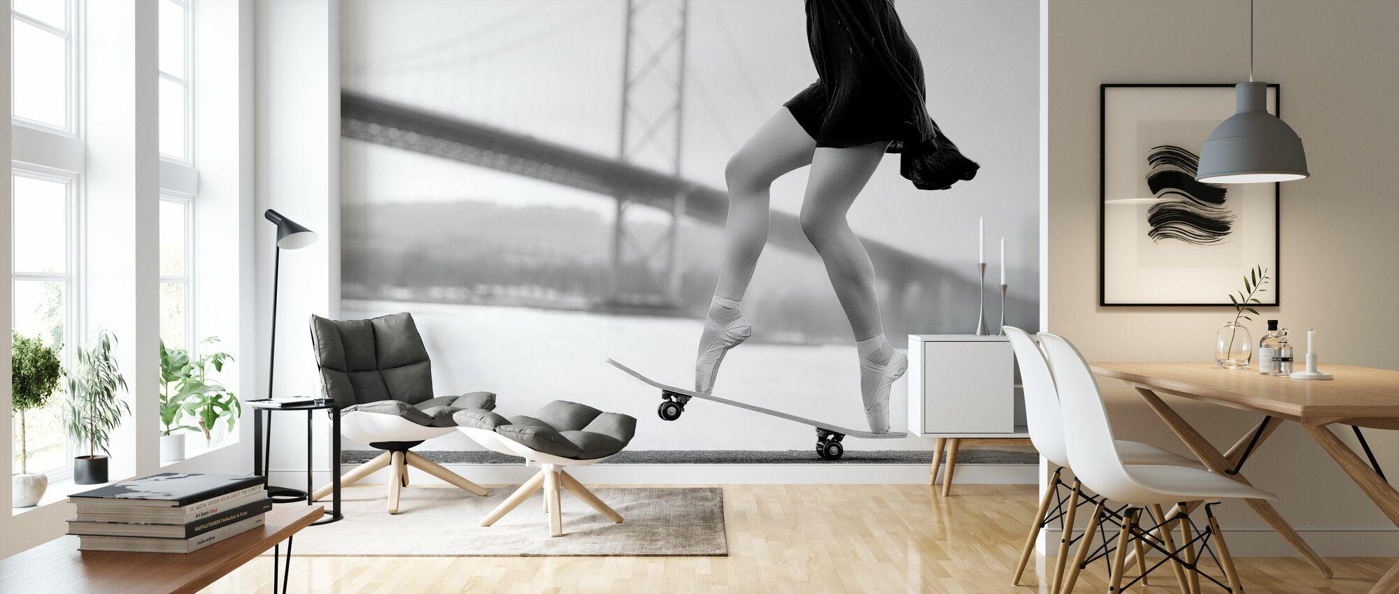 Skater Girl - Wallpaper - Living Room